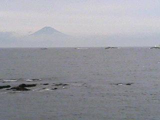 あら、まぁ、富士山!