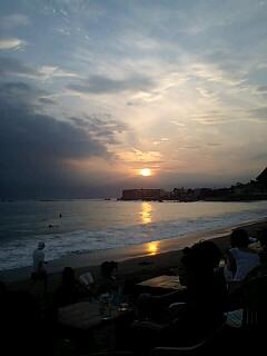 海の日は海で